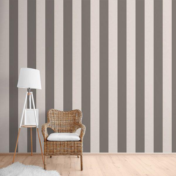 Papel pintado rayas gris textura en https://papelpintadobarcelona.com/2016/12/22/papel-pintado-rayas-en-la-tienda-de-barcelona/