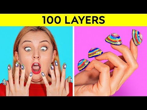 100 LAYERS CHALLENGE || 100 Layers of Makeup || Ultimate
