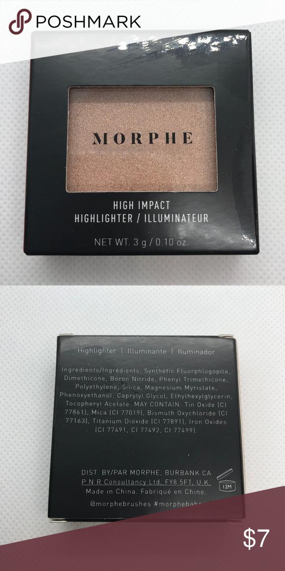 Morphe High Impact Mini Highlighter - Spark Brand new in box