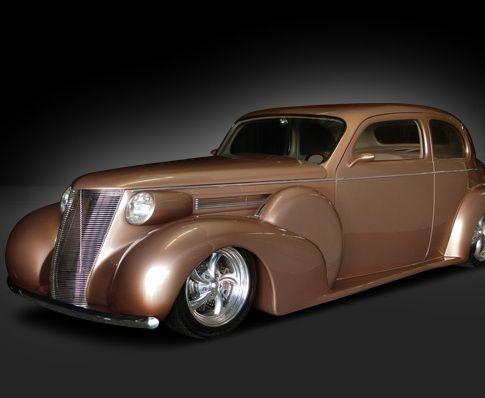 1937 Oldsmobile Tudor Coupe