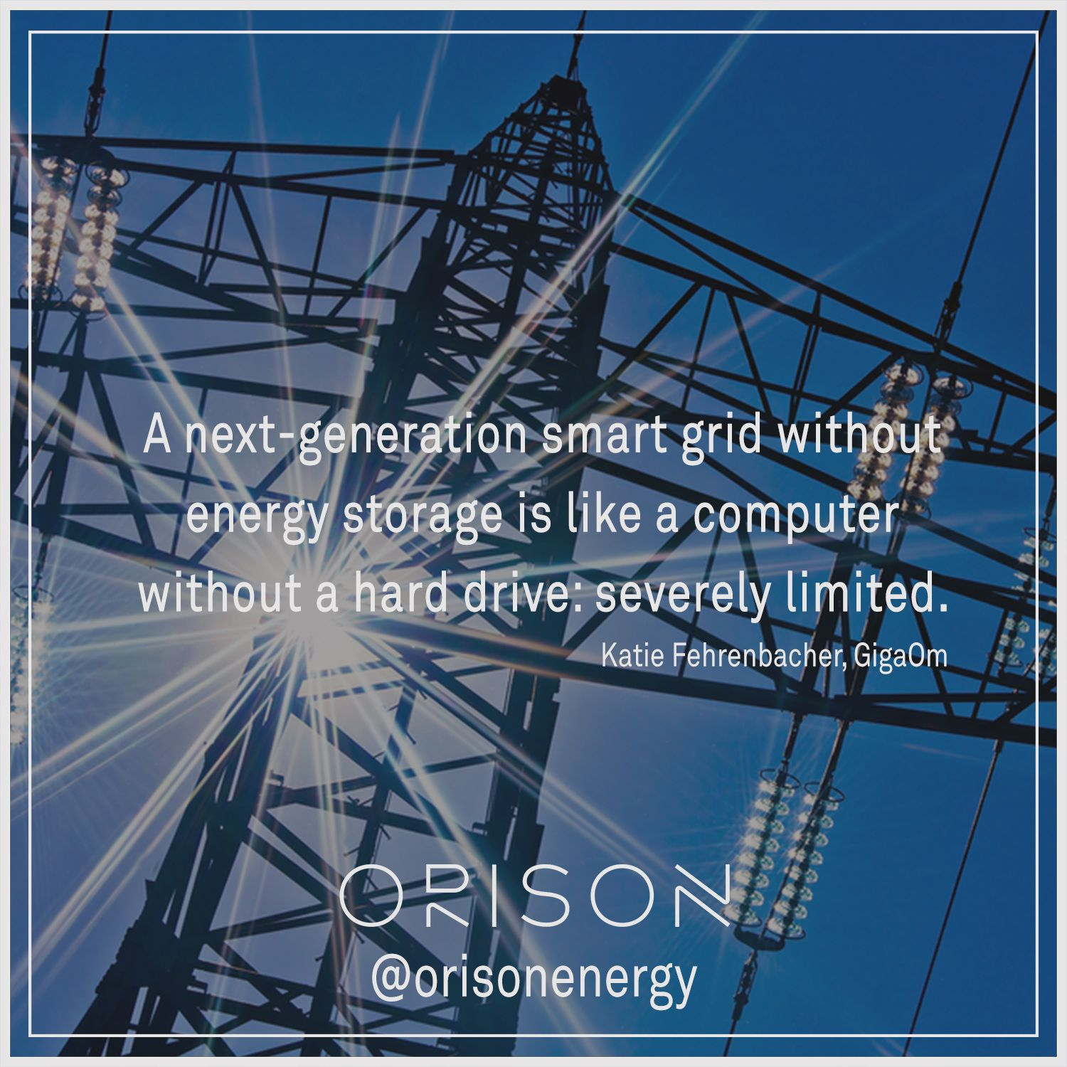 Don't limit yourself! #EnergyStorage #SmartGrid #TechTuesday