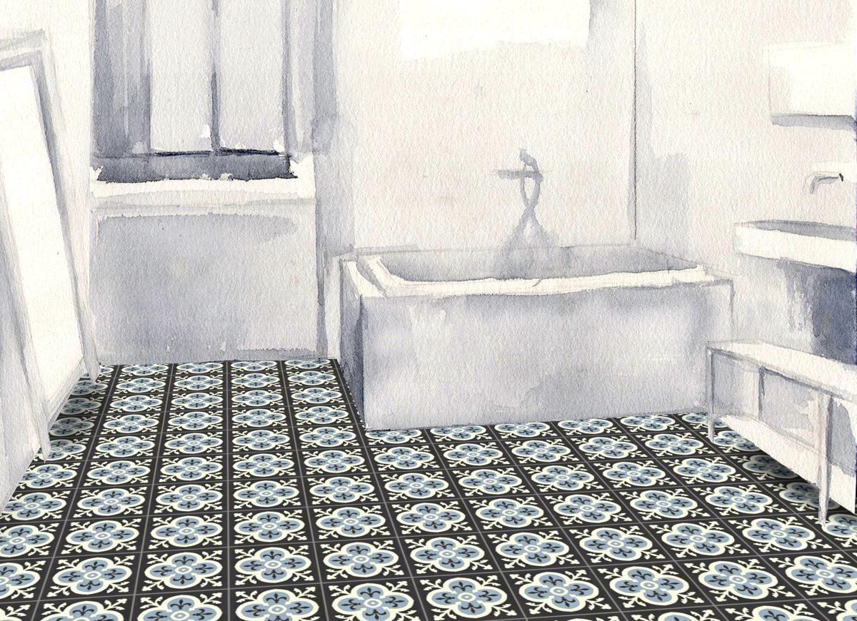 Carreaux Ciment Floraux Mosaic Del Sur Carreaux Ciment