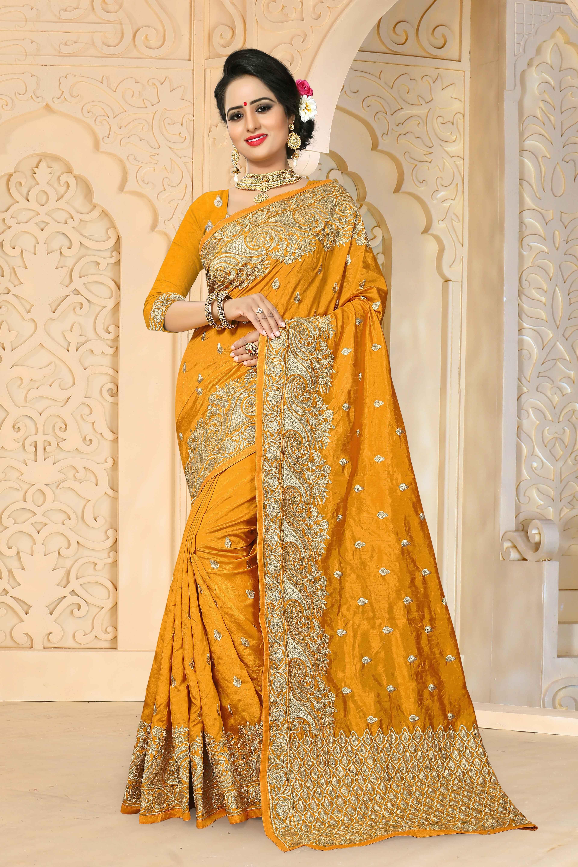 3a4ad993179e20 Buy online Yellow colour Designer Embroidery work Zoya Art Silk Saree at  joshindia#saree, #Wedding, #Hot, #Blouse, #Pattu, #Draping, #Farewell,  #Photoshoot, ...