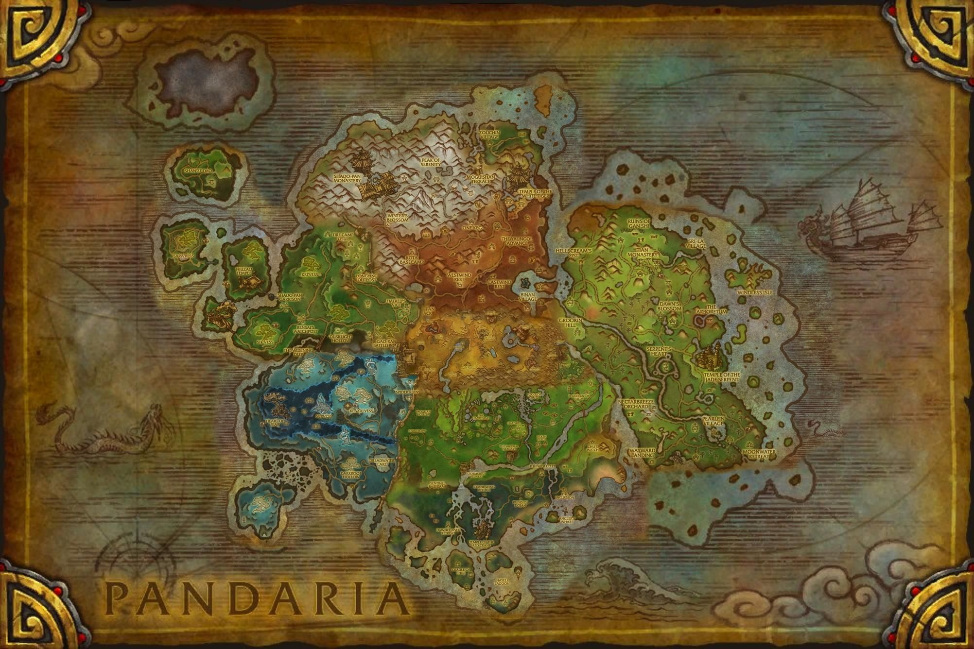 Warcraft Pandaria World of warcraft, Ancient knowledge