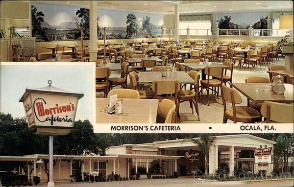 Morrison S Cafeteria Dining Out In 2019 Vintage Florida