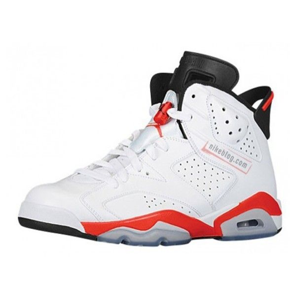 wholesale dealer 7eeeb 1123b ... order air jordan 6 infrared liked on polyvore featuring shoes jordans  and sneakers 04a3a 0f255