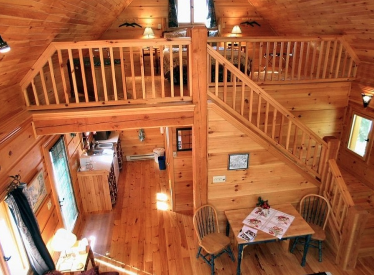 24X24 ONE BEDROOM CABIN WITH LOFT Google Search Cabin