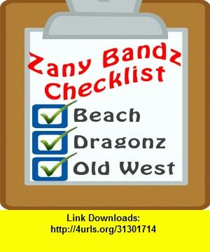 Zany Bandz Checklist, iphone, ipad, ipod touch, itouch, itunes, appstore, torrent, downloads, rapidshare, megaupload, fileserve