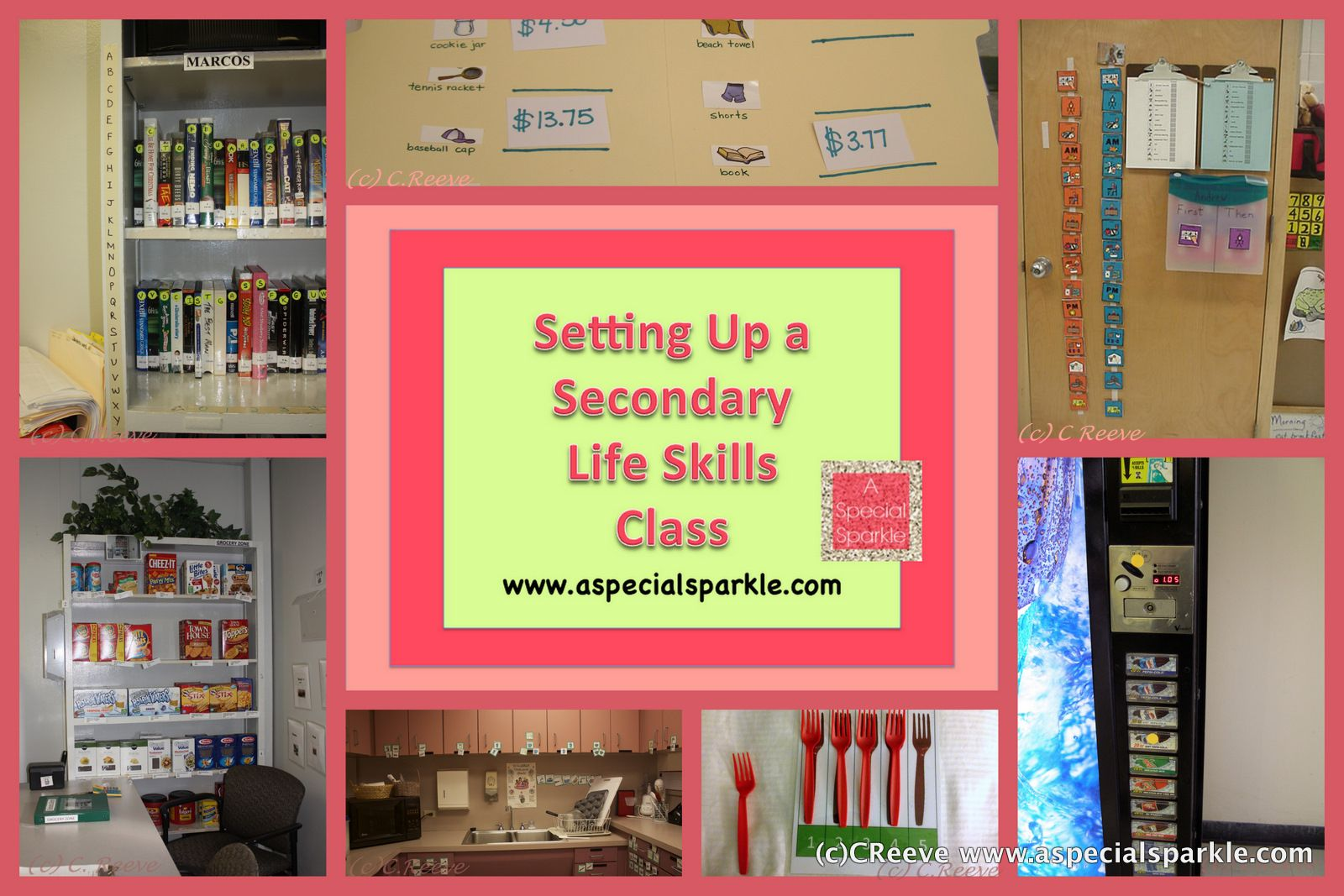A Special Sparkle Setting Up A Secondary Life Skills
