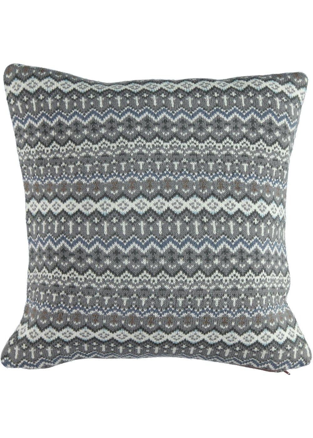 Fairisle Pattern Cushion 48cm X 48cm Matalan Home
