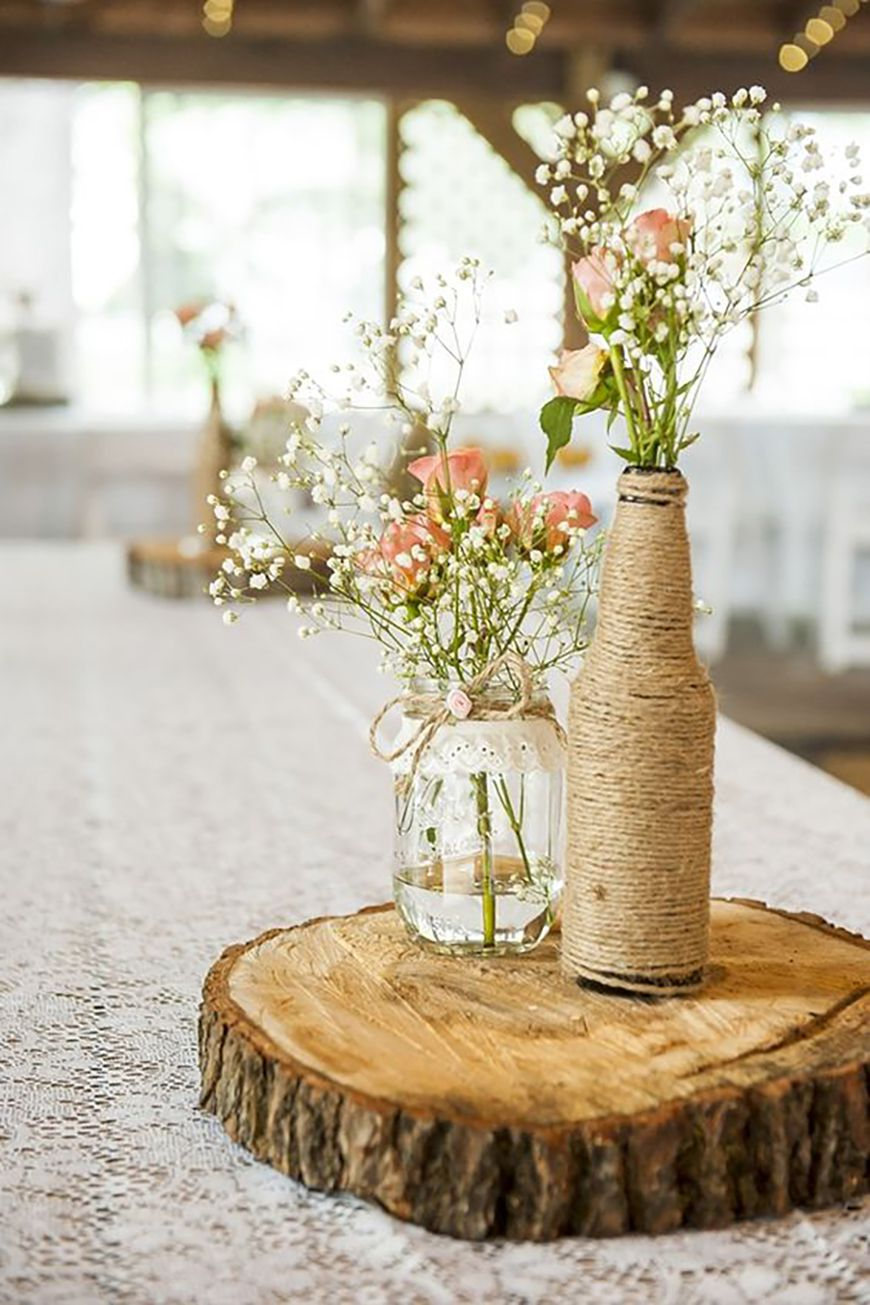 How To Create Those Stunning Handmade Wedding Table Decorations Be At One With The Trees