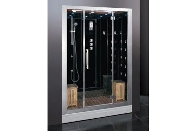 Ariel Dz972f8 Two Person Modern Steam Shower With Computer Control