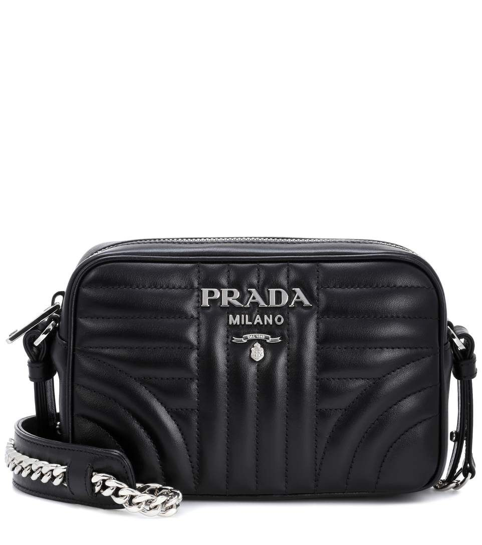 ccecfbe18ba9a5 PRADA Diagramme leather crossbody bag. #prada #bags #shoulder bags #leather  #crossbody #lining #