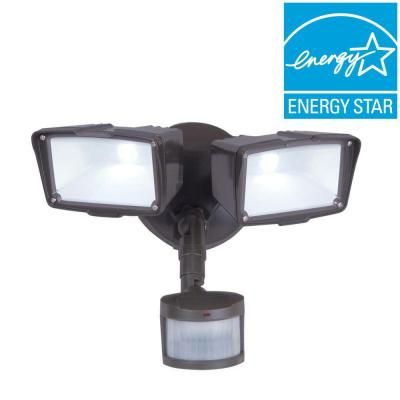 Flood Light Security Camera Endearing Allpro 270Degree Bronze Motion Activated Sensor Outdoor Integrated Decorating Inspiration