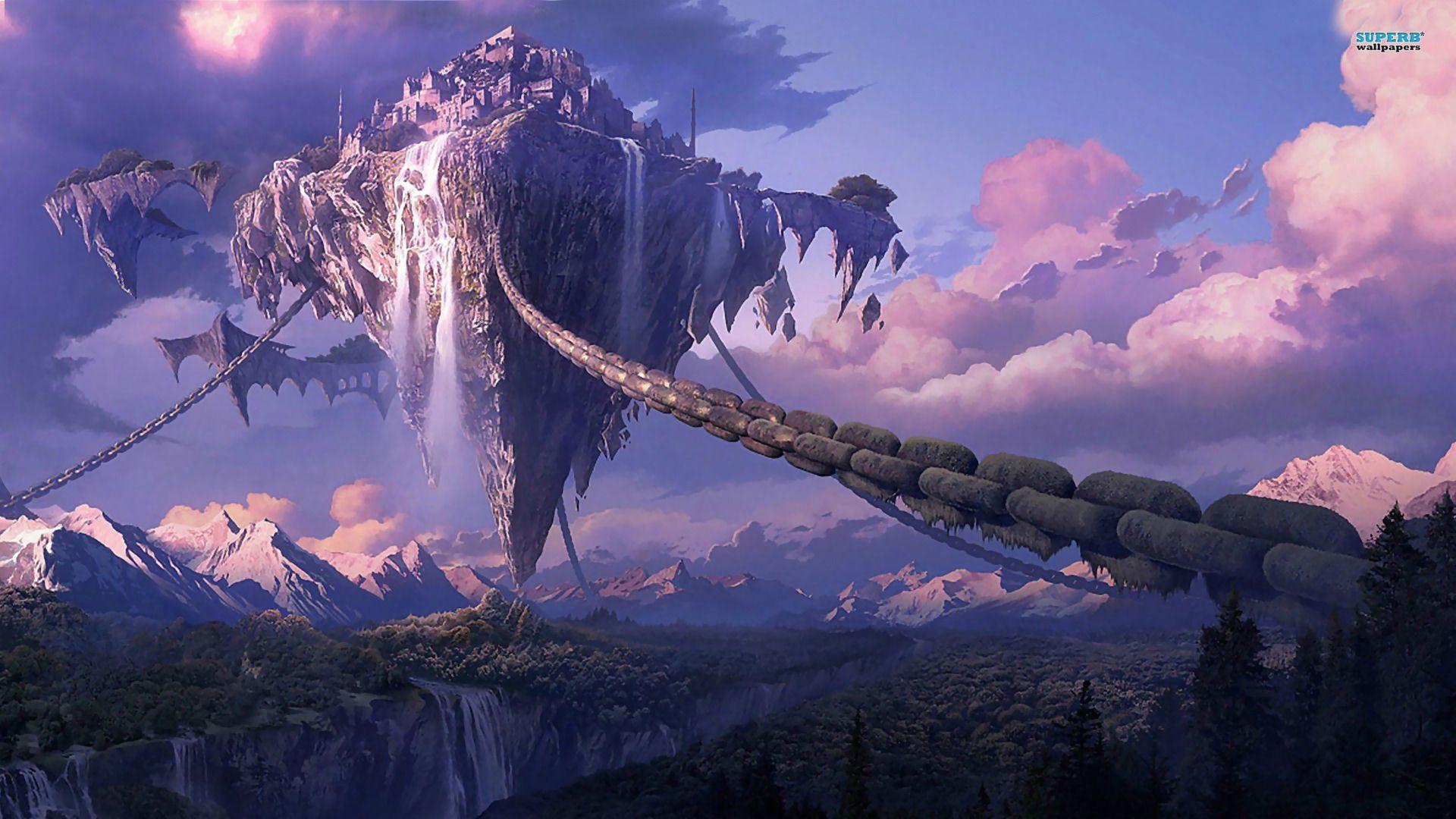 Pin by Sarah Pettinger on Fantasy Art Fantasy landscape