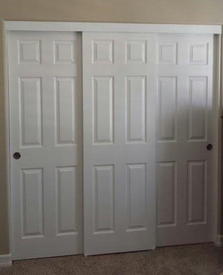 Panel Louver And Flush Doors Flush Doors Sliding Closet Doors Closet Doors