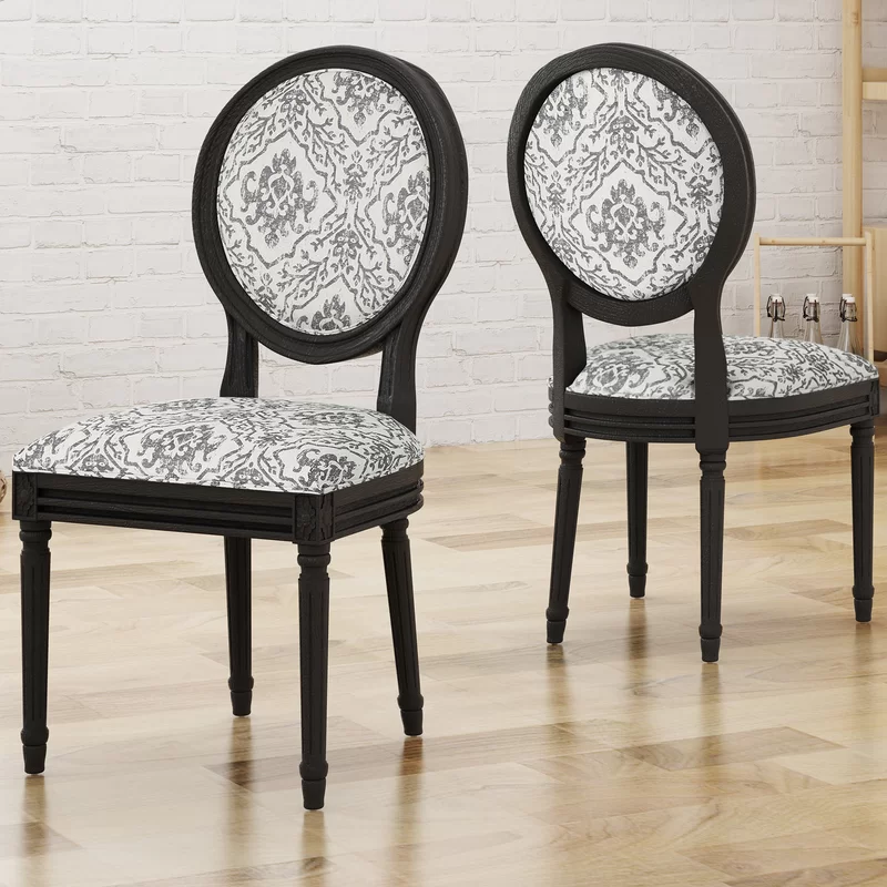 Rockwood Upholstered Dining Chair Dining chairs, Metal
