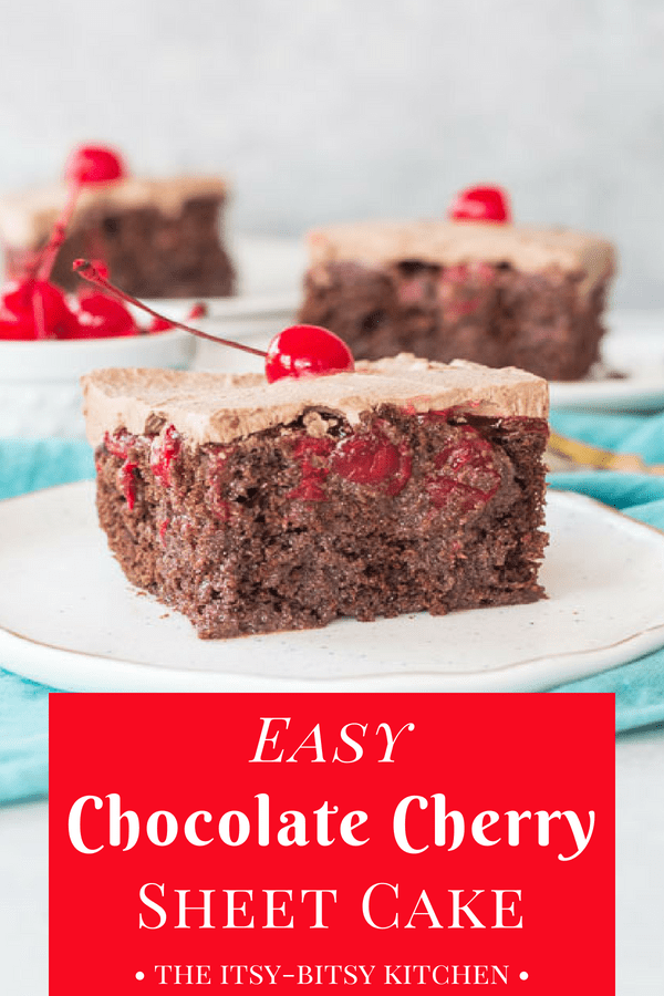 Easy Chocolate Cherry Cake Recipe Food Pinterest Cake