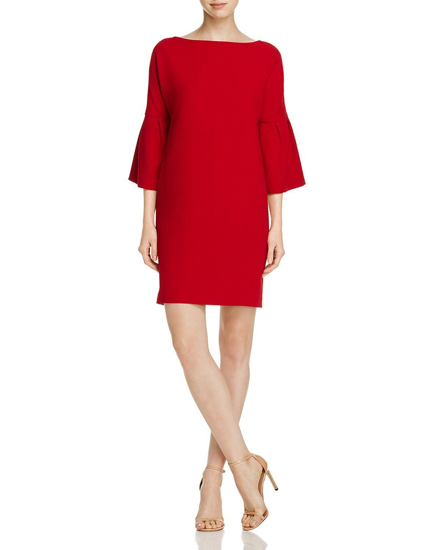 Badgley Mischka Bell Sleeve Shift Dress Women Dresses Bloomingdale S Womens Shift Dresses Bell Sleeve Shift Dress Shift Dress [ 1500 x 1200 Pixel ]