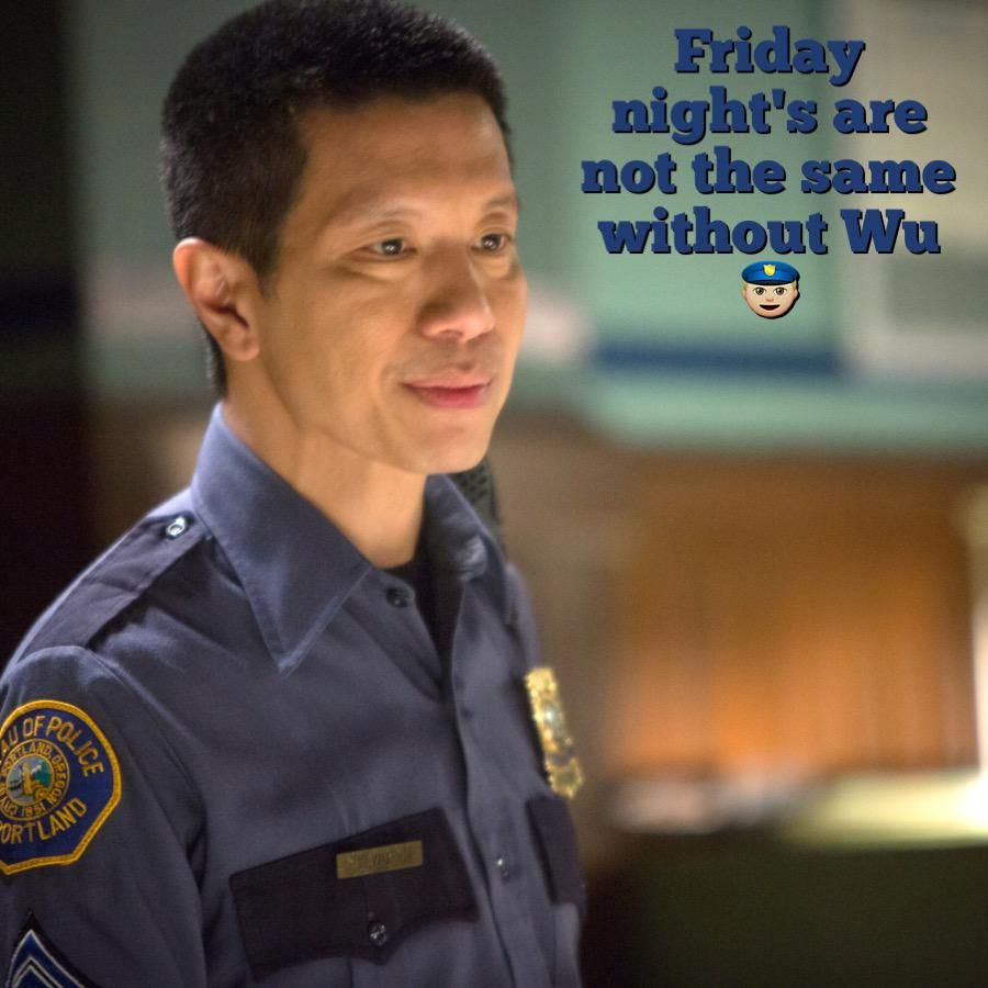 HAPPY FRIDAY GRIMMSTERS! #SgtWu #Grimm