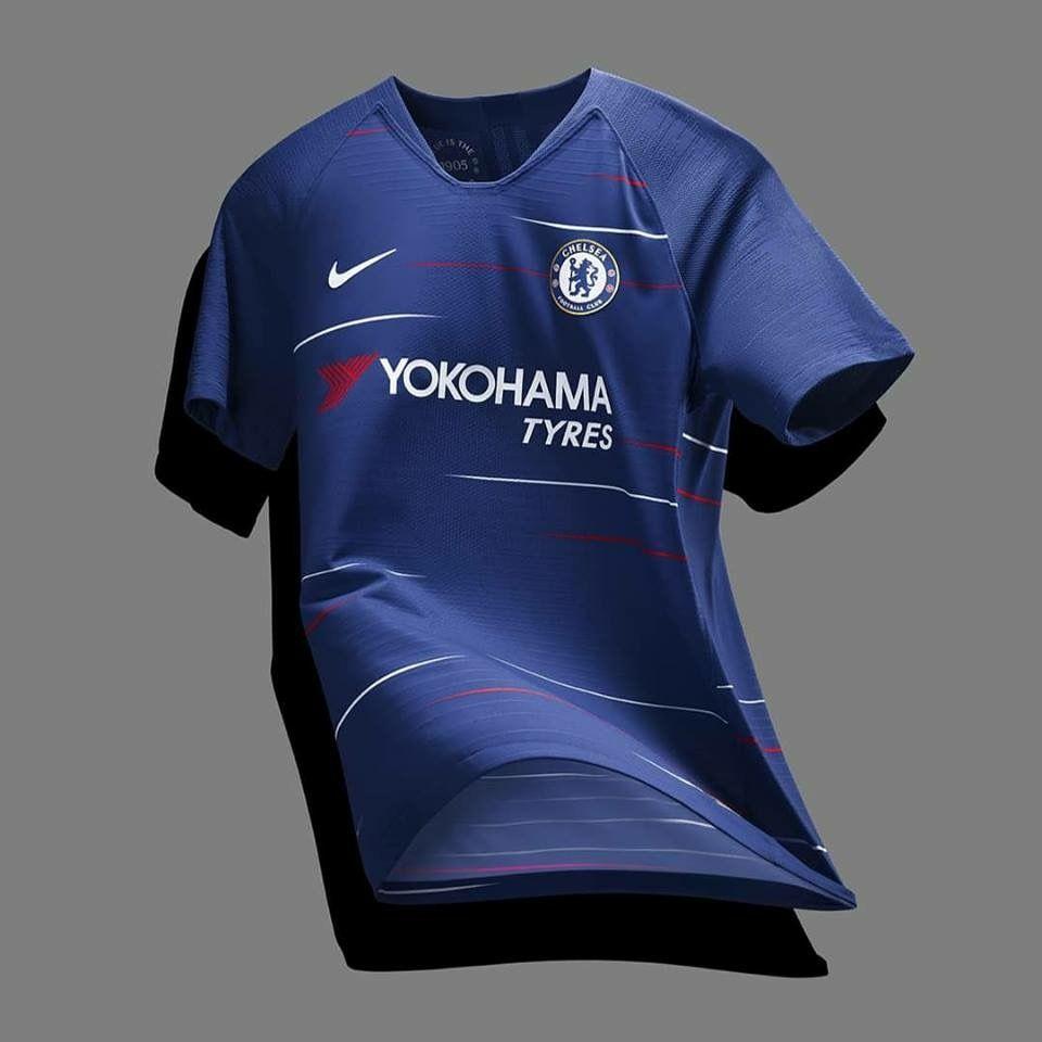 Chelsea Home Kit 2018-19. Chelsea Home Kit 2018-19 Camisetas De Fútbol ... d1225ad3a36a1