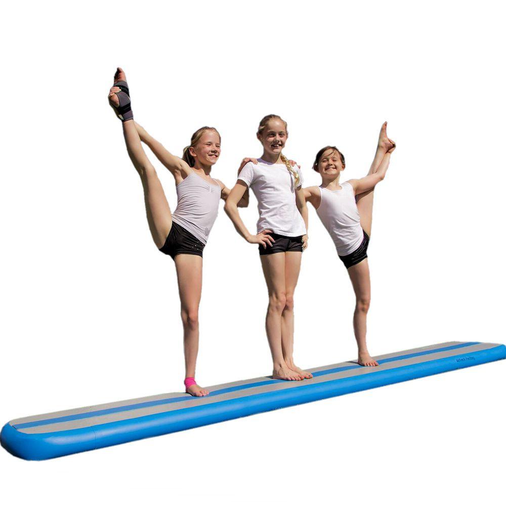 air beam trampolin turnmatte von schmale luftgef llte airtrack factory bahn mit. Black Bedroom Furniture Sets. Home Design Ideas