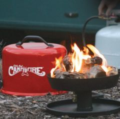 Camco Little Red Campfire Lifestyle Portable Propane Fire Pit Gas Firepit Propane Fire Pit