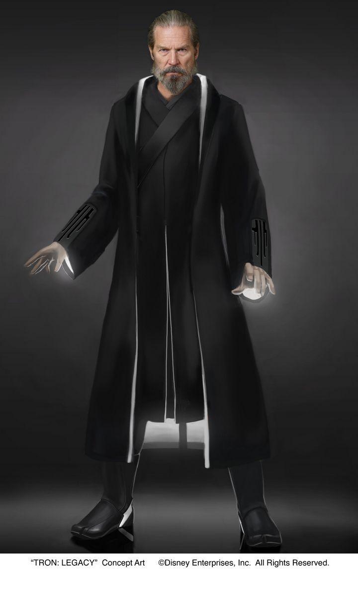 Legacy Kevin Flynn Black Uniform Cosplay Costume Custom Made Full Set Tron