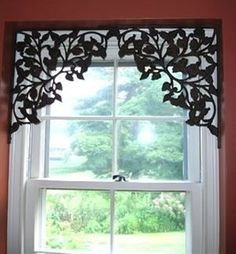 DIY Shelf Brackets Window Treatments | best stuff