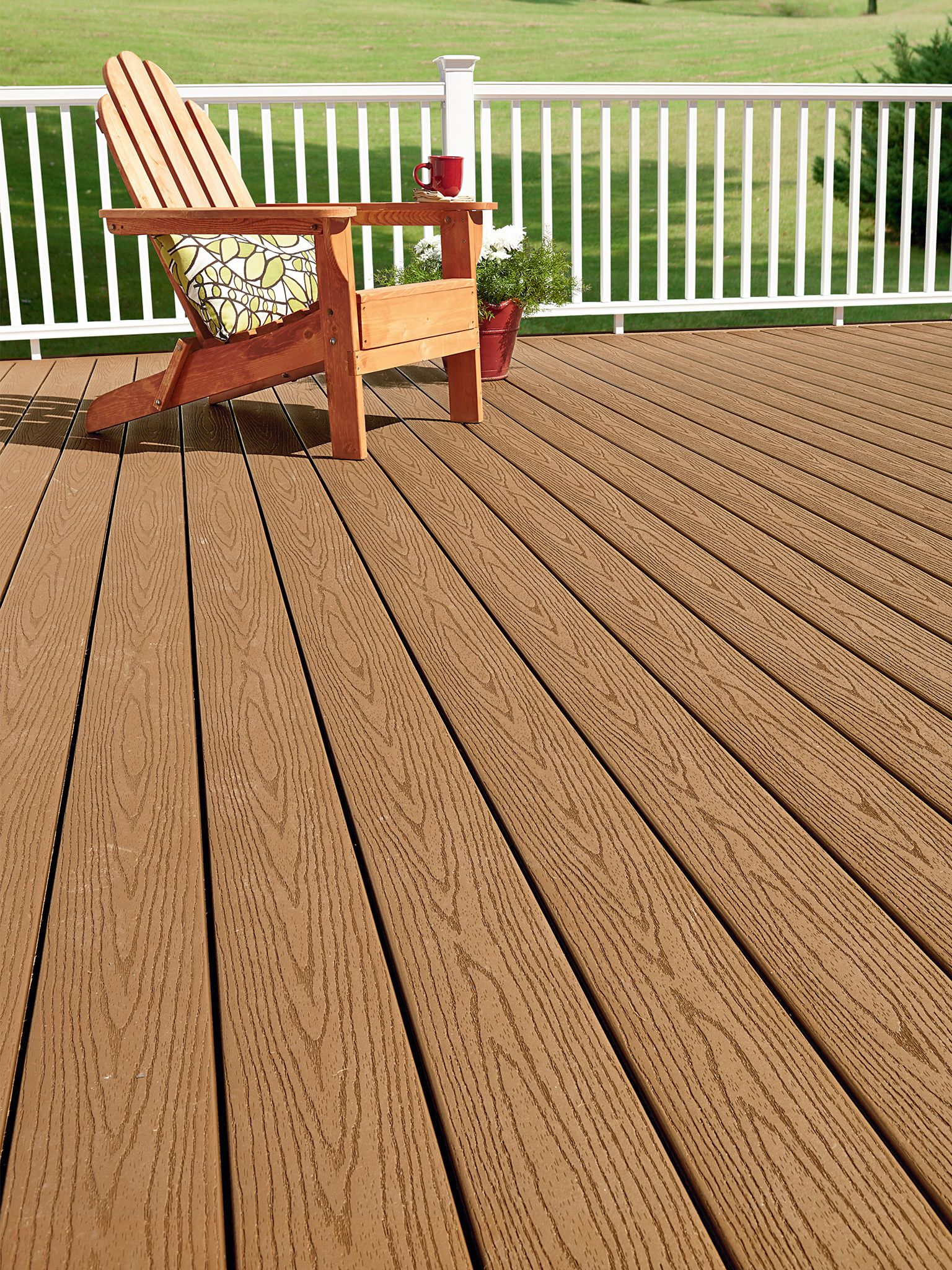Looking to upgrade to a composite without breaking the for Fiberon ipe decking prices