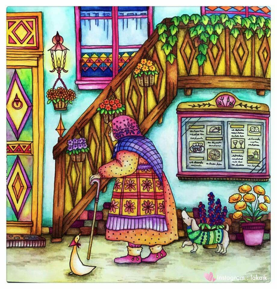Pin By Nell On Romantic Country Romantic Country Colorful Drawings Romantic