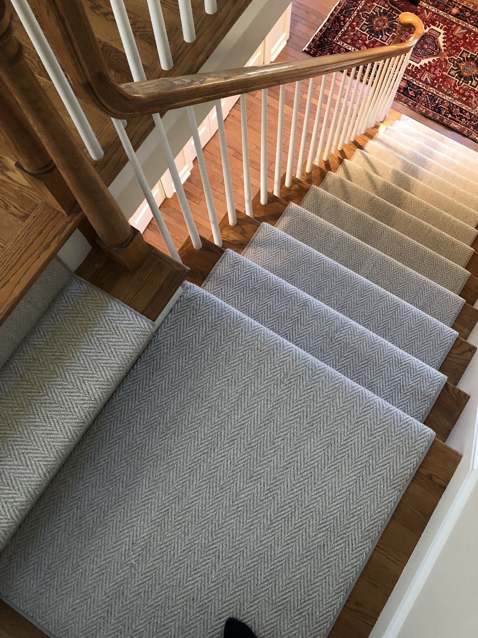 Some Herringbone Options Are More Hidden Than Others Some Customers Become Concerned Of The Activity In Carpet Staircase Stair Runner Carpet Staircase Runner
