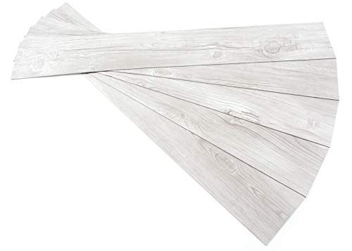 ROSEROSA Peel and Stick PVC Planks and Square Tiles Marble