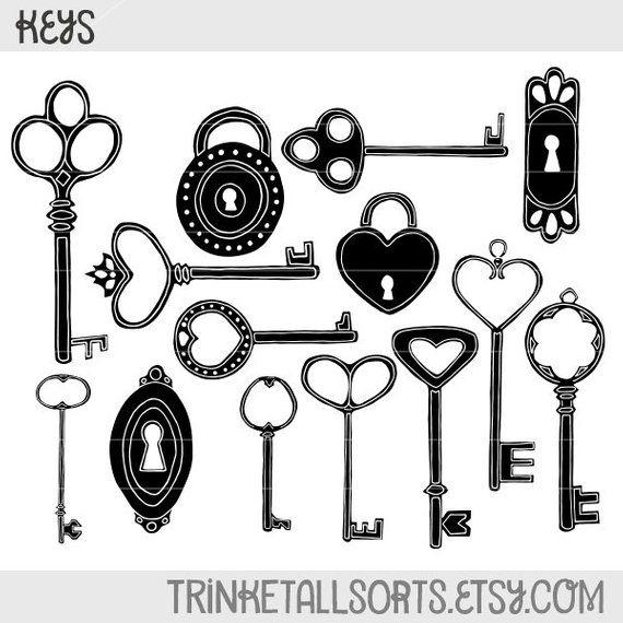 Antique Key Clip Art Keys Clipart Keys Locks Products Key