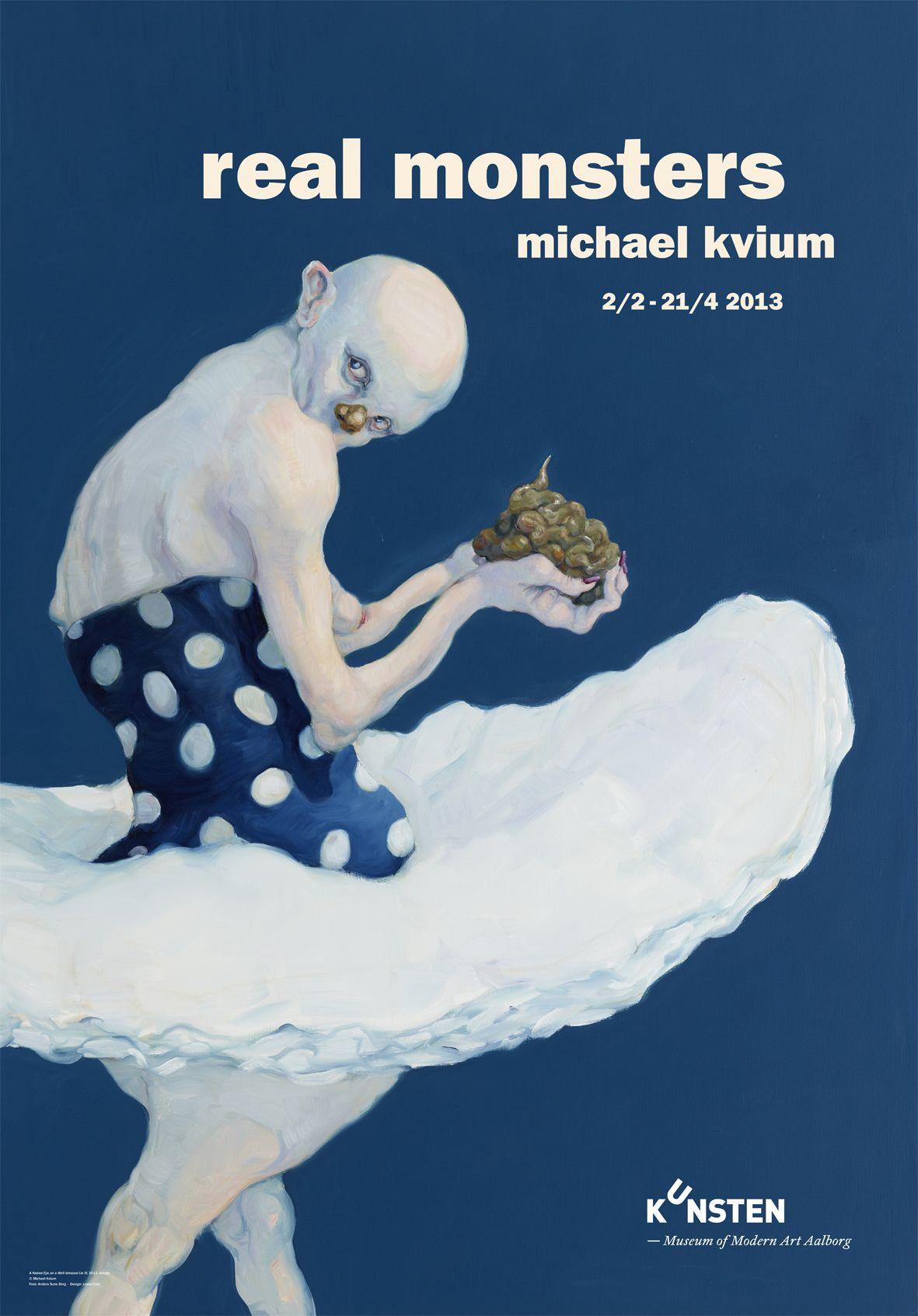 Michael Kvium At Kunsten Plakater Kunst Kunstnere