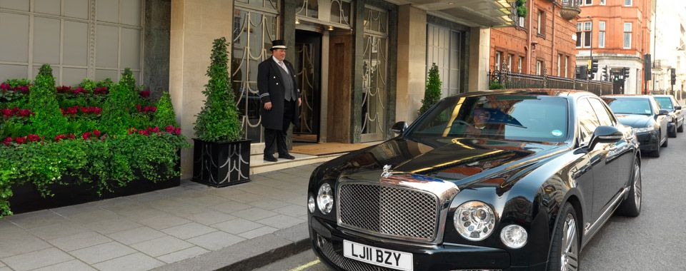Concierge Service Luxury Hotel Claridges London