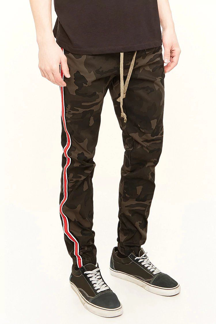 Victorious Camo Striped Jogger Pants  9785c10f2