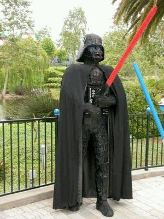 Life size lego Darth Vader | Legos | Pinterest | Lego ...