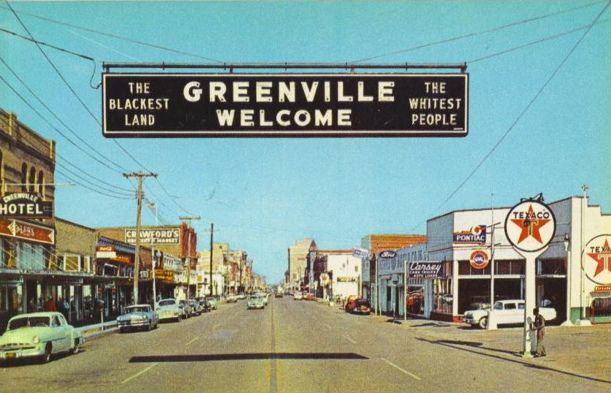 Greenville Texas Old Postcards For Vintage Postcard Downtown