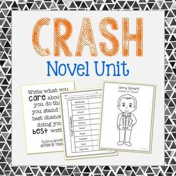 Crash By Jerry Spinelli This Novel Unit Includes Vocabulary Terms