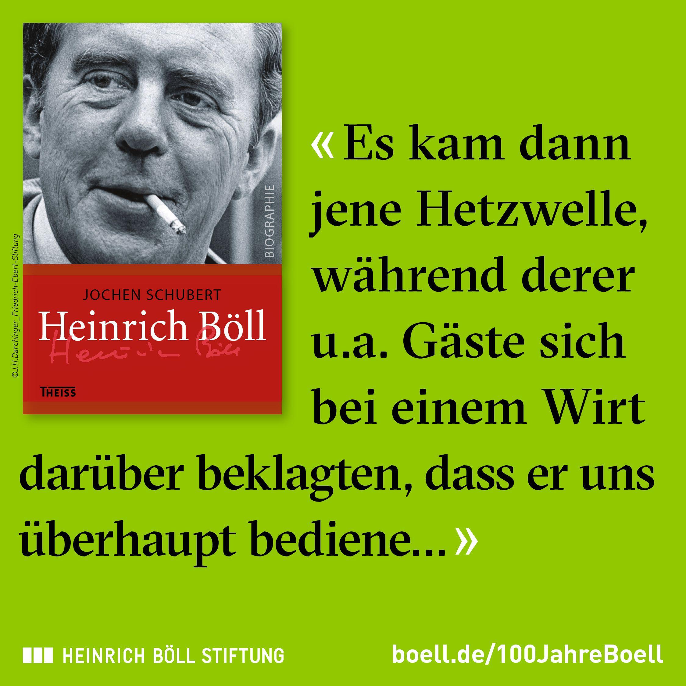 100 jahre heinrich bll - Heinrich Bll Lebenslauf