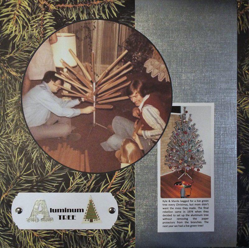 Aluminum+Tree - Scrapbook.com