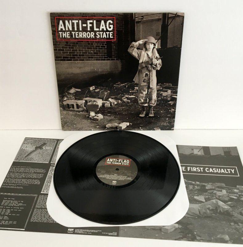 Anti Flag Terror State Lp Vinyl Record Rage Against The Machine Tom Morello Punkpunknewwave Rage Against The Machine Anti Flag Against The Machine