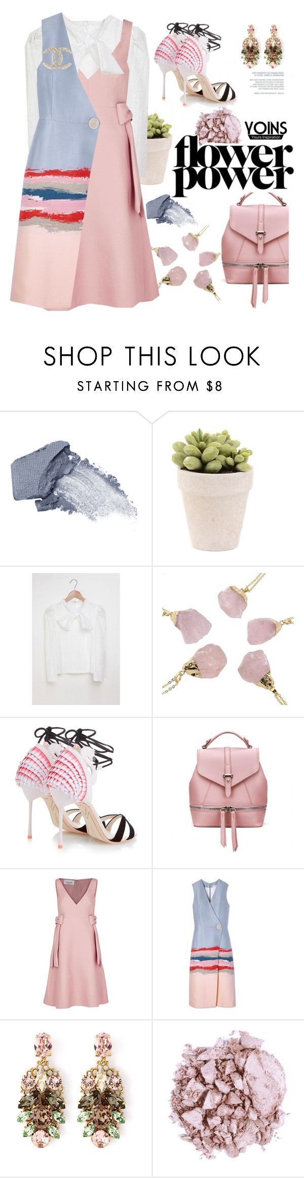 """""""Pastel perfect with yoins"""" by pensivepeacock ❤ liked on Polyvore featuring Origins, Sophia Webster, Valentino, Tory Burch, Anton Heunis and MustHave"""