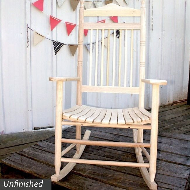 Dixie Seating Co. 467 Linville Indoor/Outdoor Spindle Rocking Chair - Factory Assembled