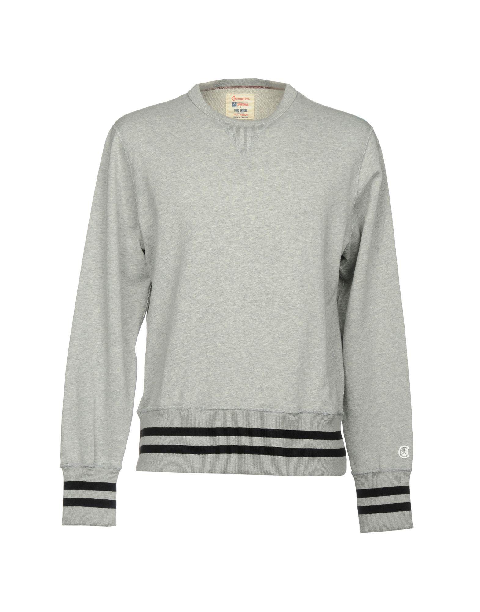 Champion Sweatshirts In Light Grey Modesens Champion Sweatshirt Sweatshirts Champion [ 2000 x 1571 Pixel ]