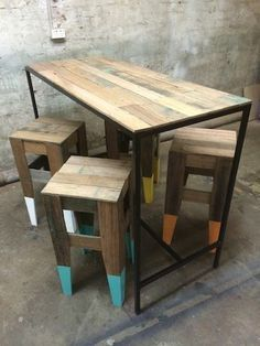 Recycled Timber Bar Table Tables Gumtree Australia Inner