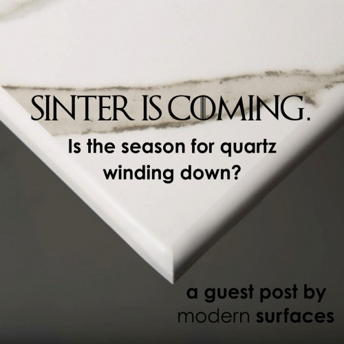 Sinter is Coming - is the time for Quartz Winding Down