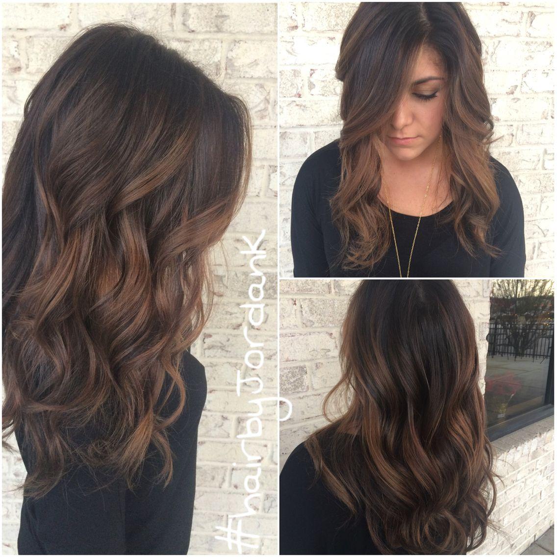 Dimensional dark chocolate brown hair @hairbynamrood @brittmarieyt ...