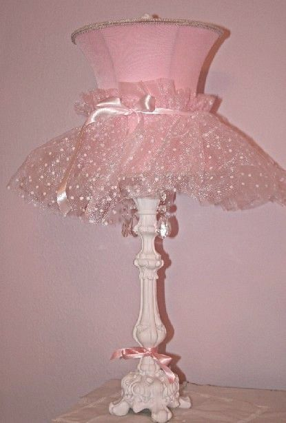 Ballerina Lamp.